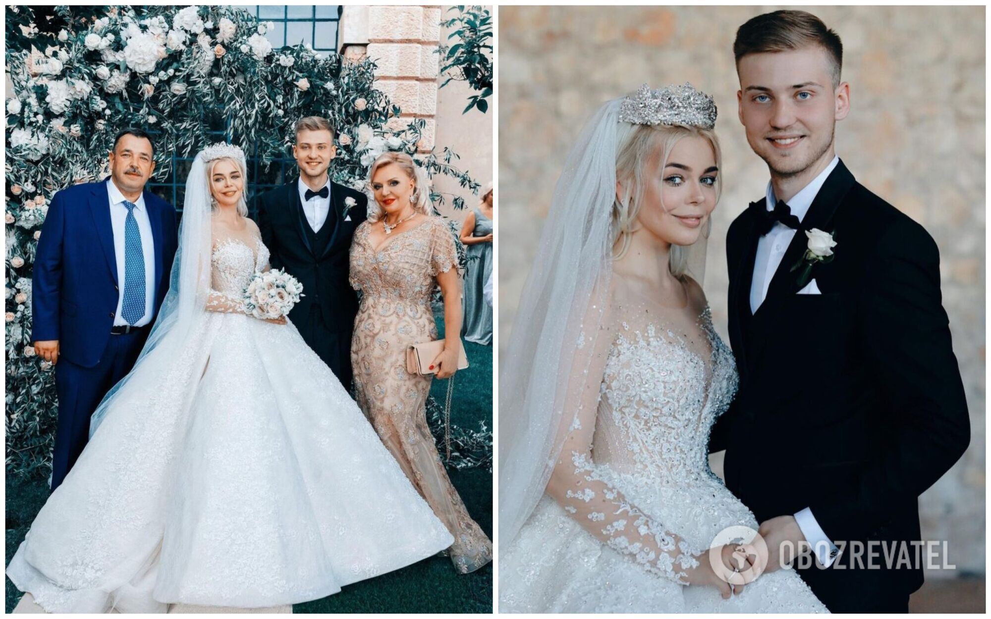 Свадьба Алины Гросу и Александра Комкова состоялась 1 июня 2019 года