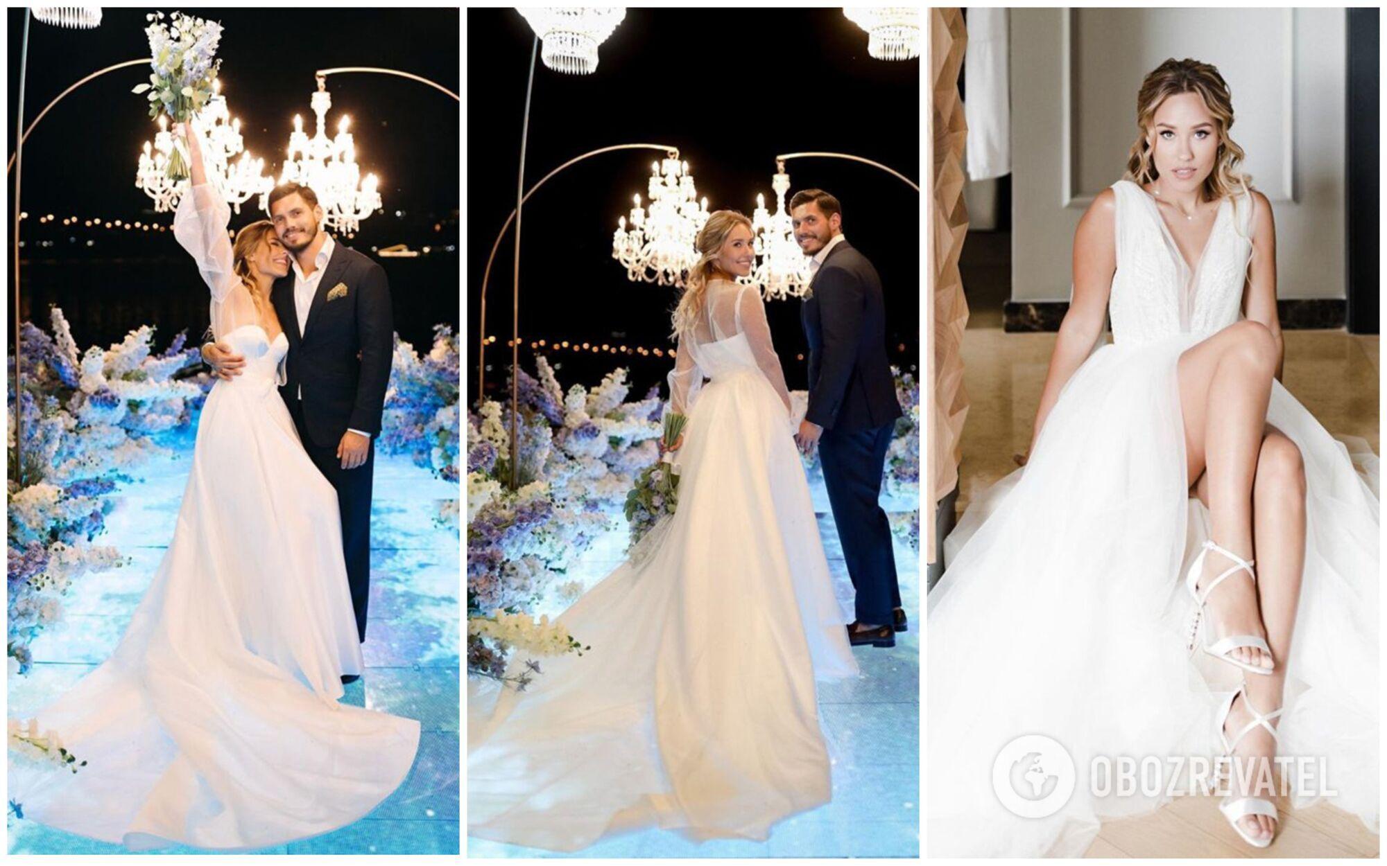 Даша Квіткова та Микита Добринін зіграли весілля в серпні 2020 року