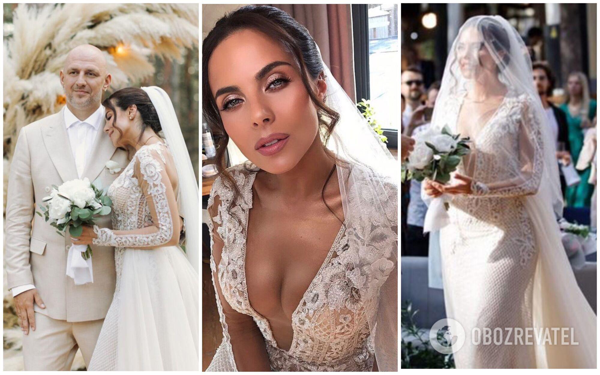 Весілля в травні 2019 року Насті Каменських і Потапа було в стилі бохо-рустик