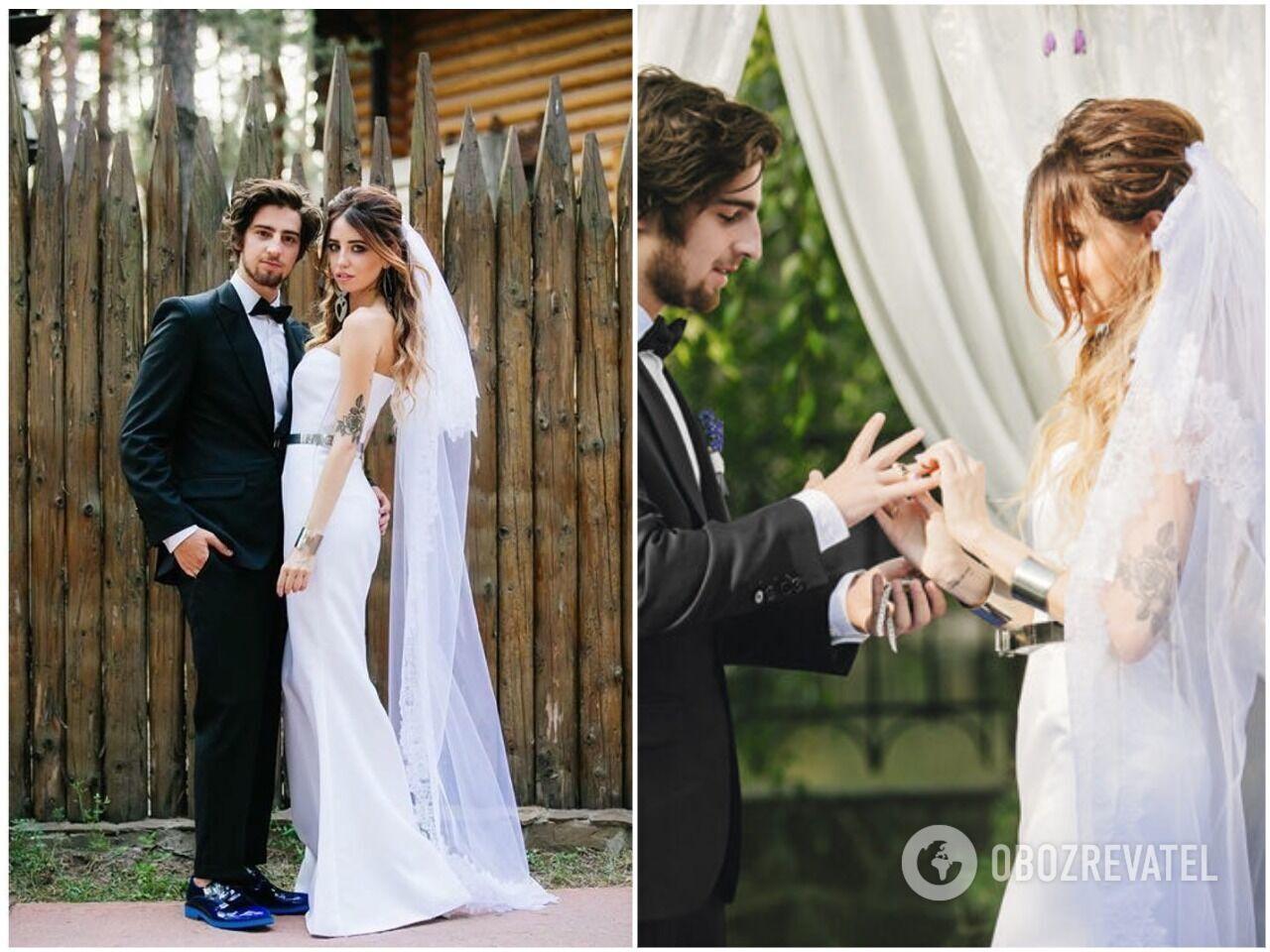 """Дантес і Дорофеєва назвали своє весілля """"лавандовим"""""""