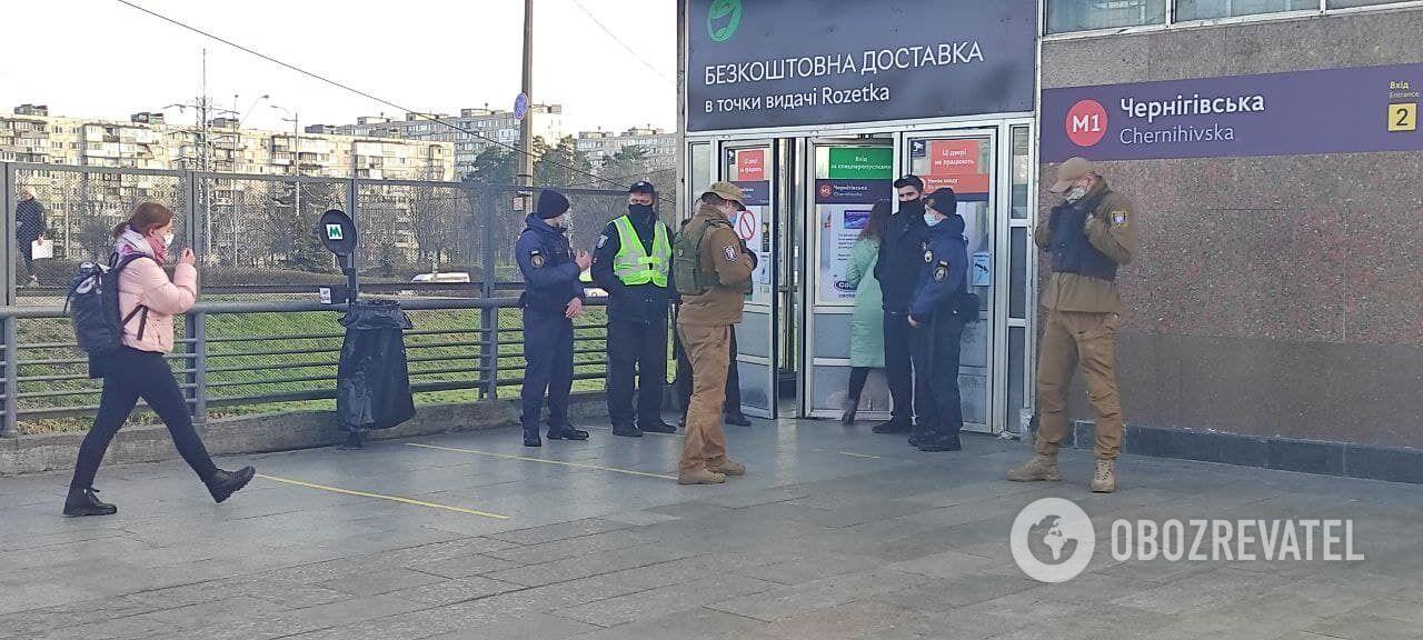 Локдаун в Киеве