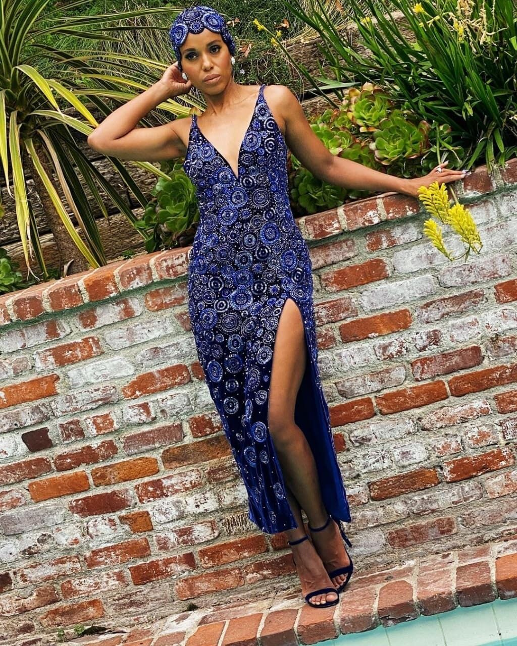 Керри Вашингтон примерила красивое платье