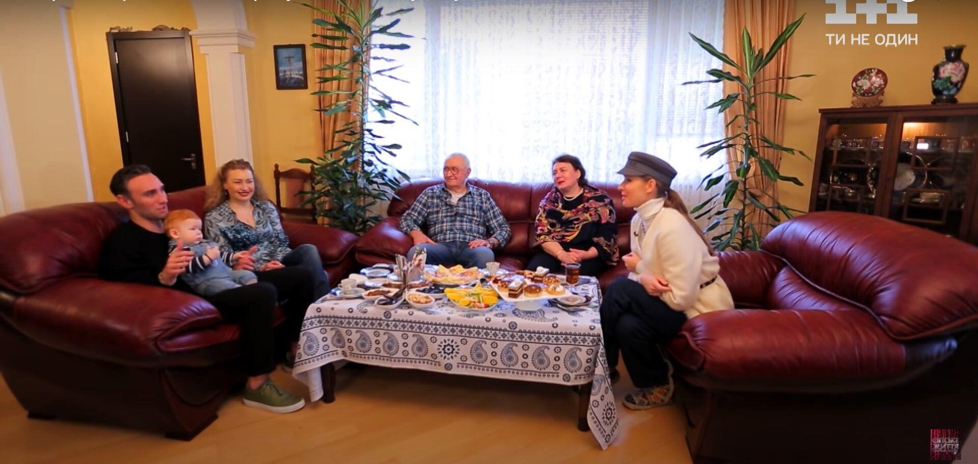 Осадчая побывала в гостях у Макацария.