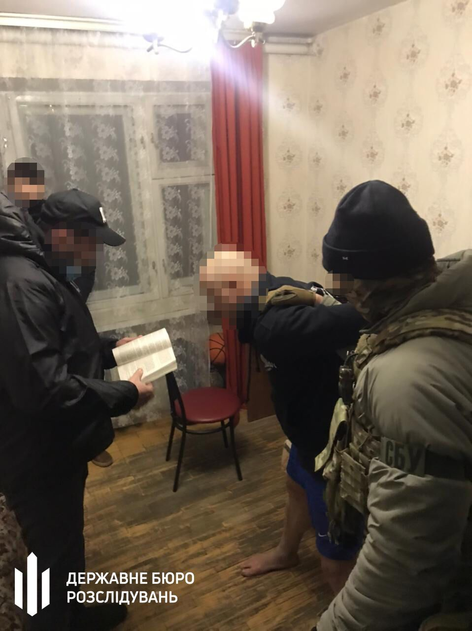 Задержание подполковника налоговой милиции.