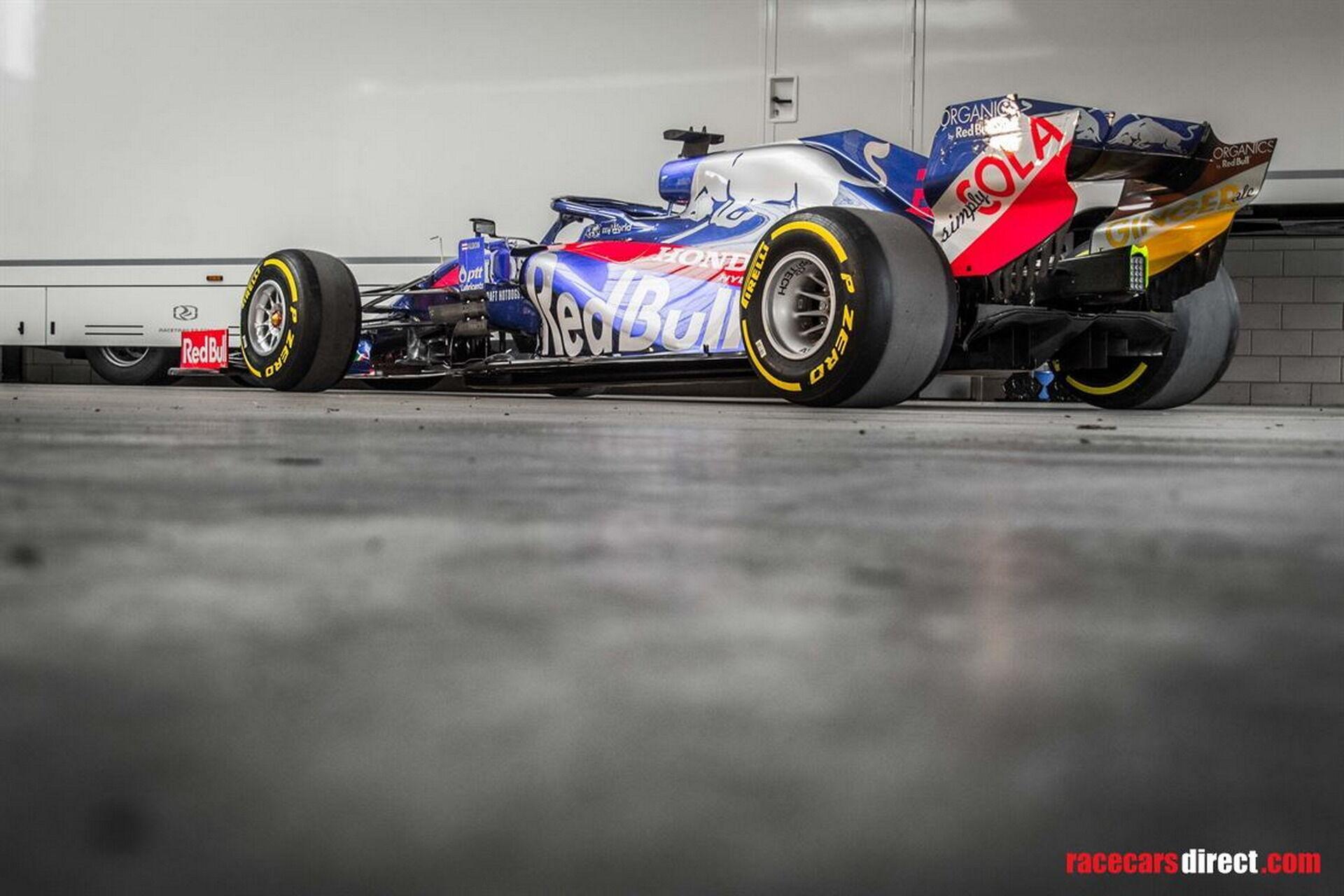 Toro Rosso STR14 зайняв друге місце в Гран-прі Бразилії у 2019 році