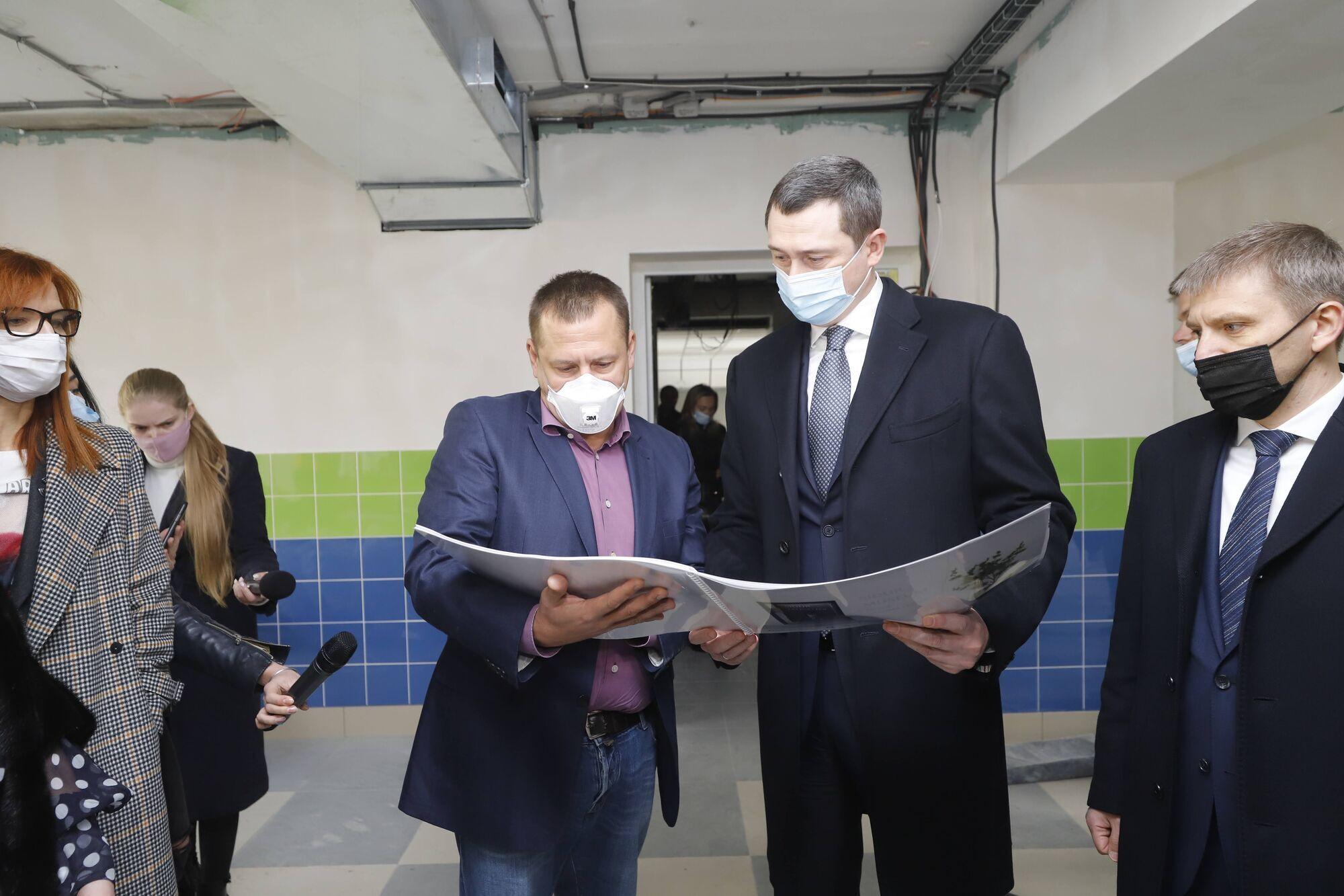Борис Филатов рассказал о планах на реконструкцию других объектов