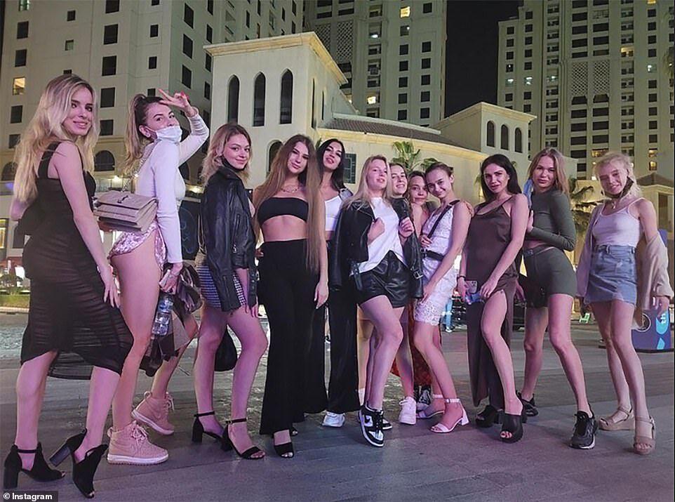Українські моделі в Дубаї