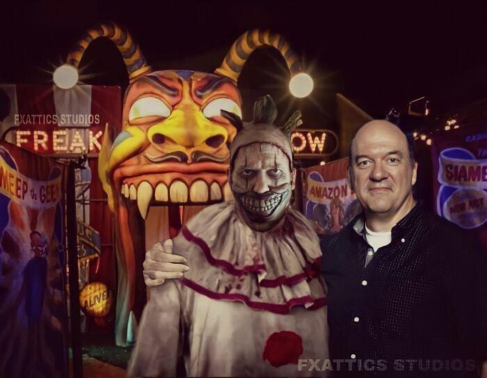 """Твісті Клоун та Джон Керролл Лінч з """"Американської історії жахів"""""""