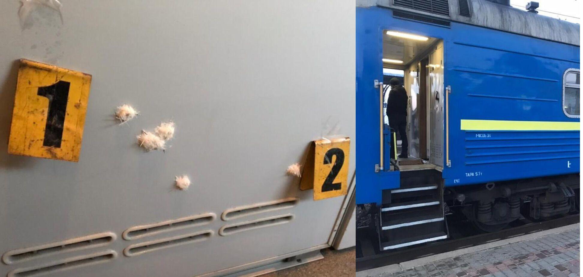 Стрілянину двоє офіцерів затіяли в купе поїзда Костянтинівка – Київ