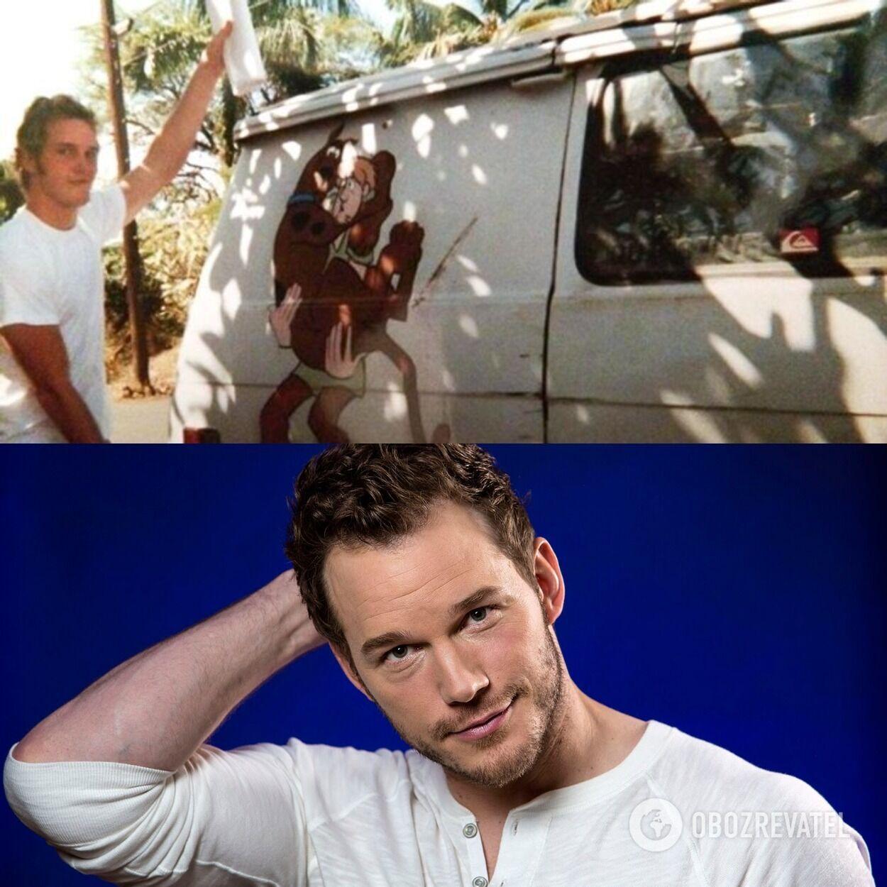 Автофургон, в котором жил Крис Пратт до того, как стал знаменитым, и как выглядит актер сейчас