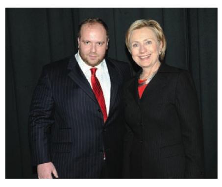 Також Гречин знайомий із Гілларі Клінтон