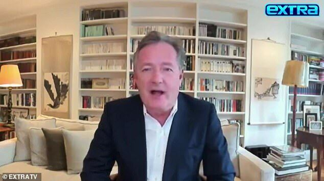Британский журналист и телеведущий Пирс Морган