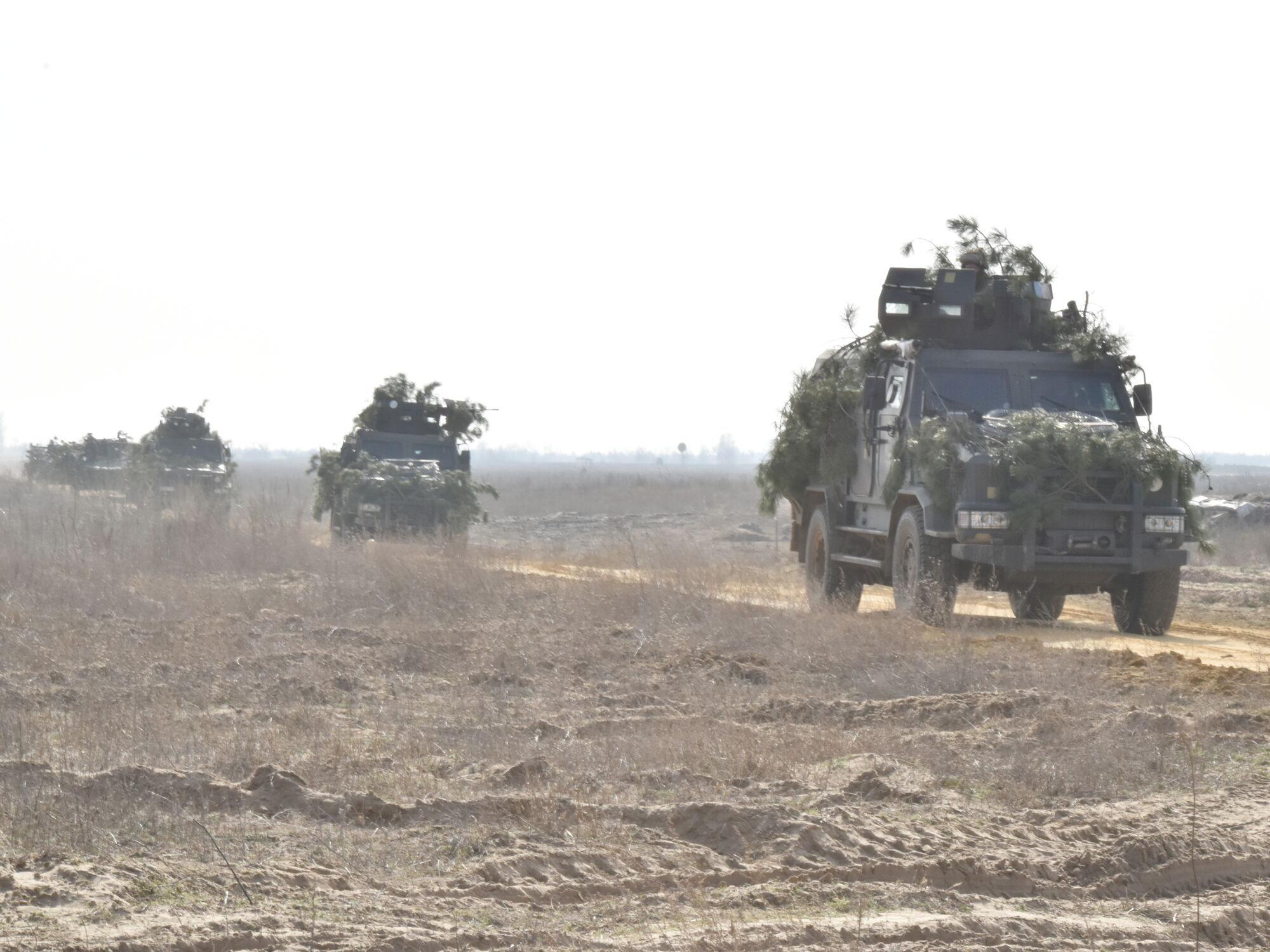 На півдні України відбулися масштабні тренування ЗСУ
