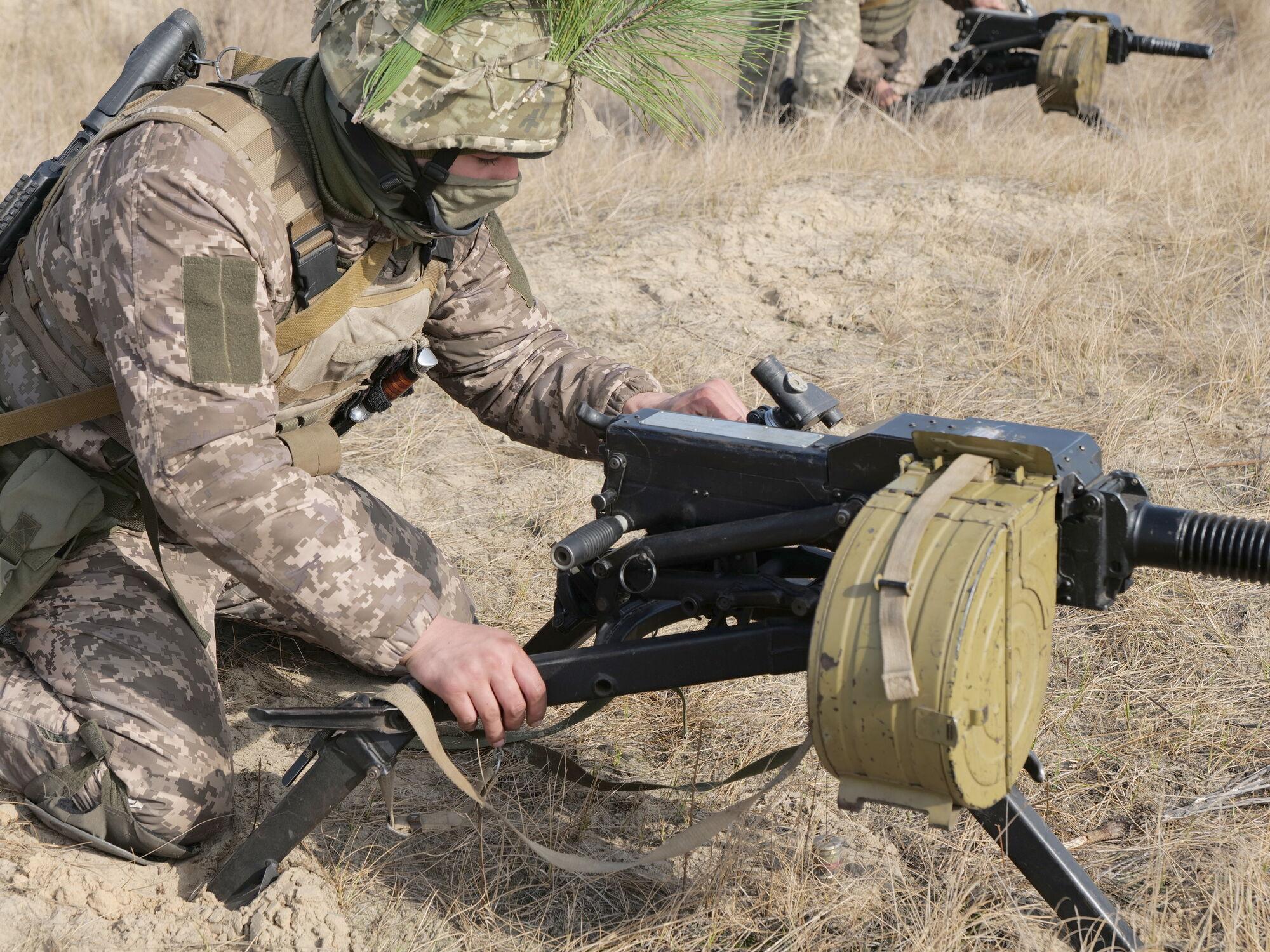 Умови навчань ЗСУ були наближені до бойових