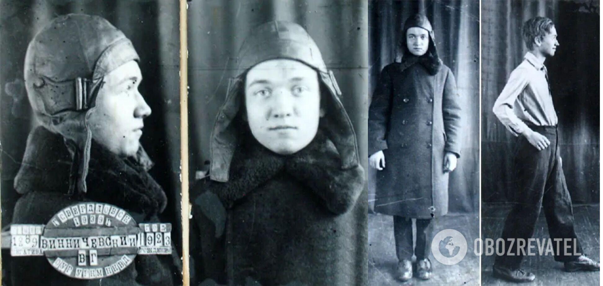 Владимир Винничевский, на второй части фото – в день задержания