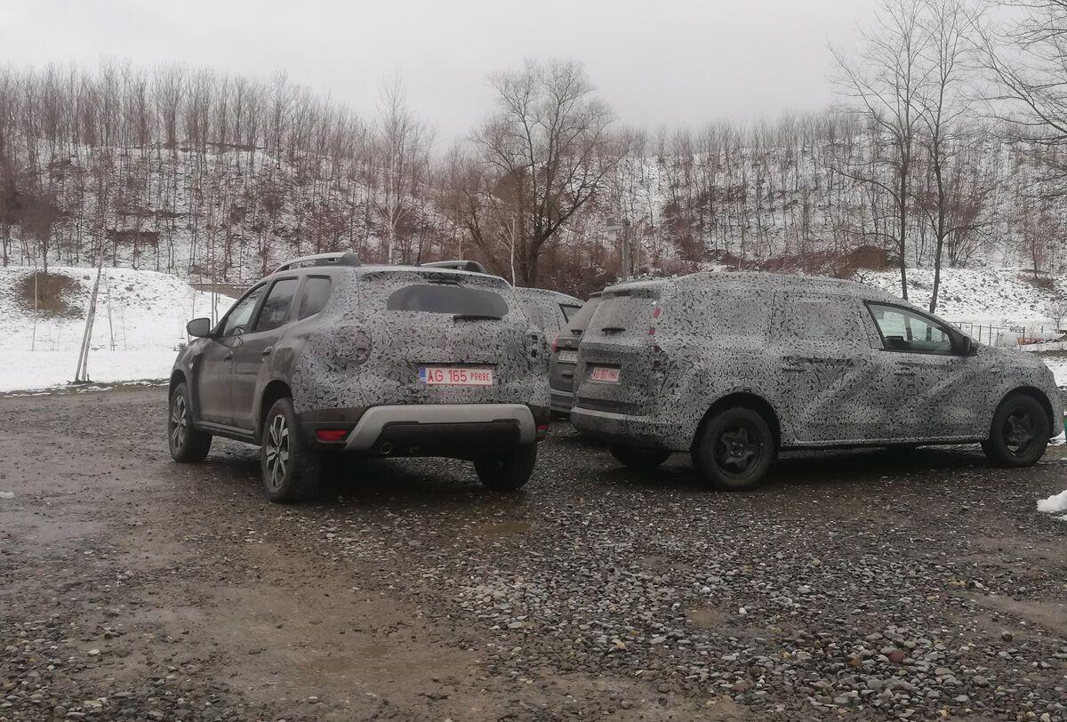 Оновлена Dacia Duster
