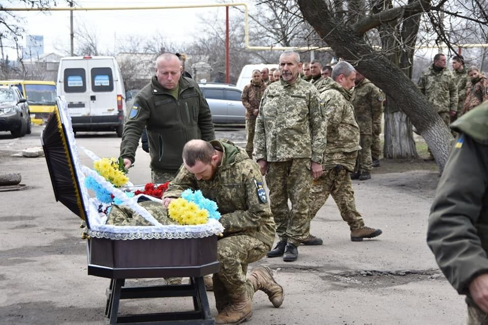 10 горно-штурмовая бригада ВСУ провела Сергея Сулиму в последний путь