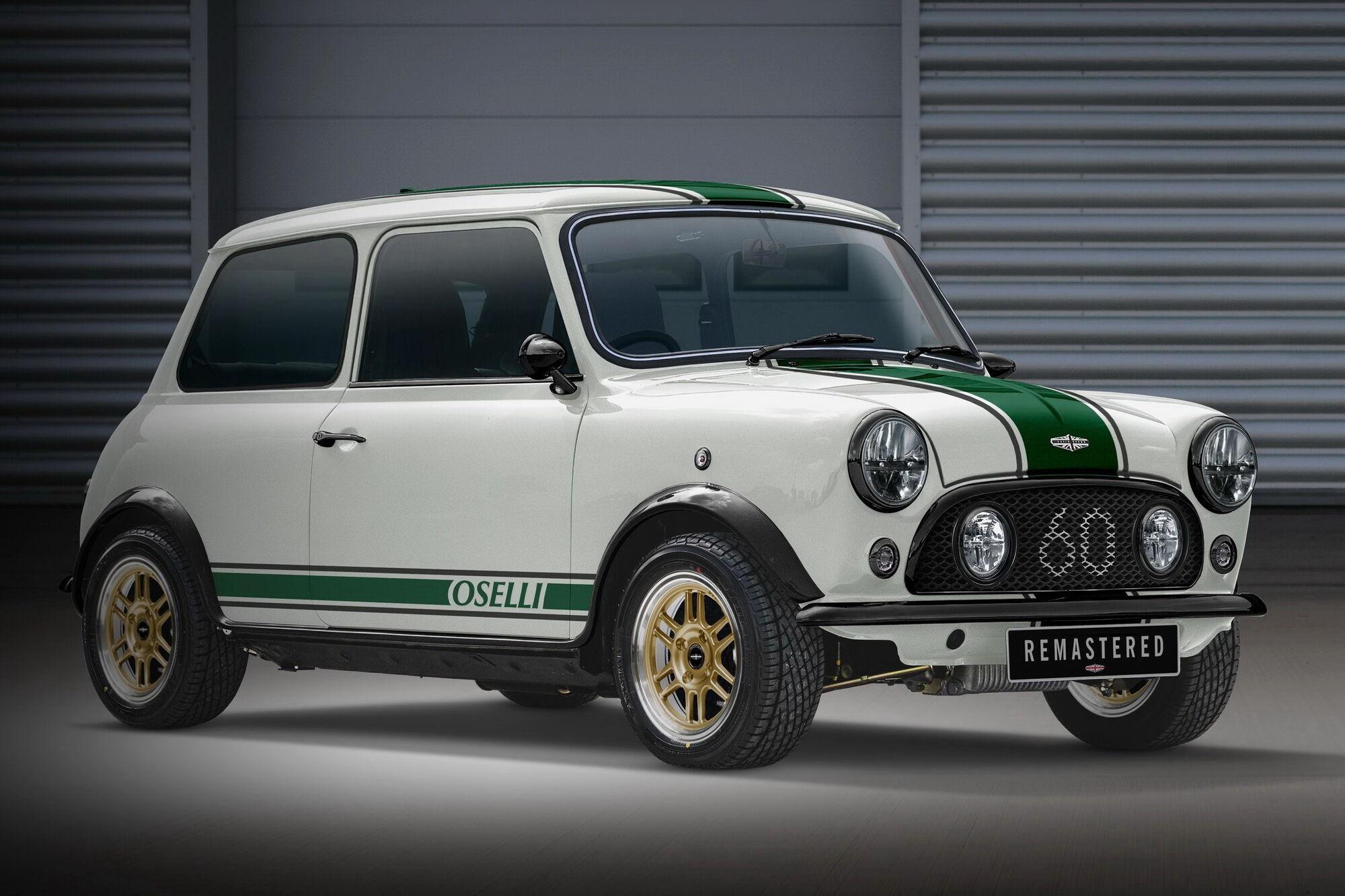 Mini Remastered Oselli Edition был анонсирован еще 2 года назад, но реальный автомобиль появился на свет только сейчас