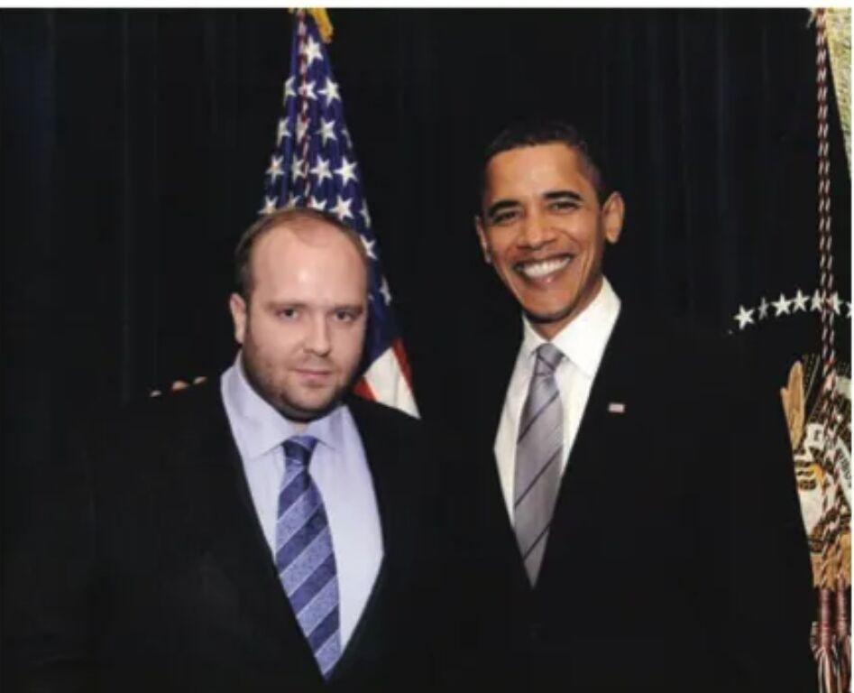 Виталий Гречин с Бараком Обамой