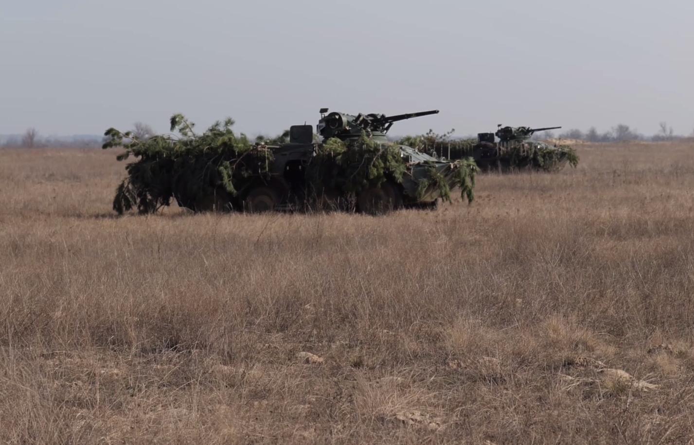 Десантники ЗСУ тренувалися відбивати наступ морського десанту противника