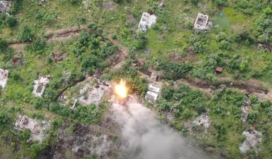 ВСУ удалось уничтожить огневую точку, с которой террористы постоянно вели обстрелы