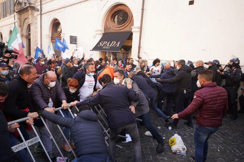 Акція в Римі
