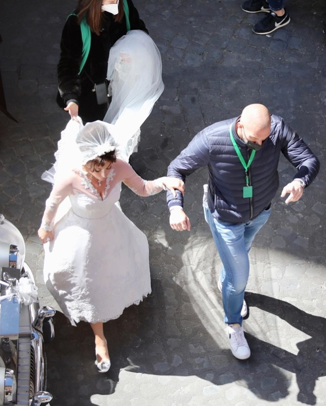 Свадебный образ Леди Гаги