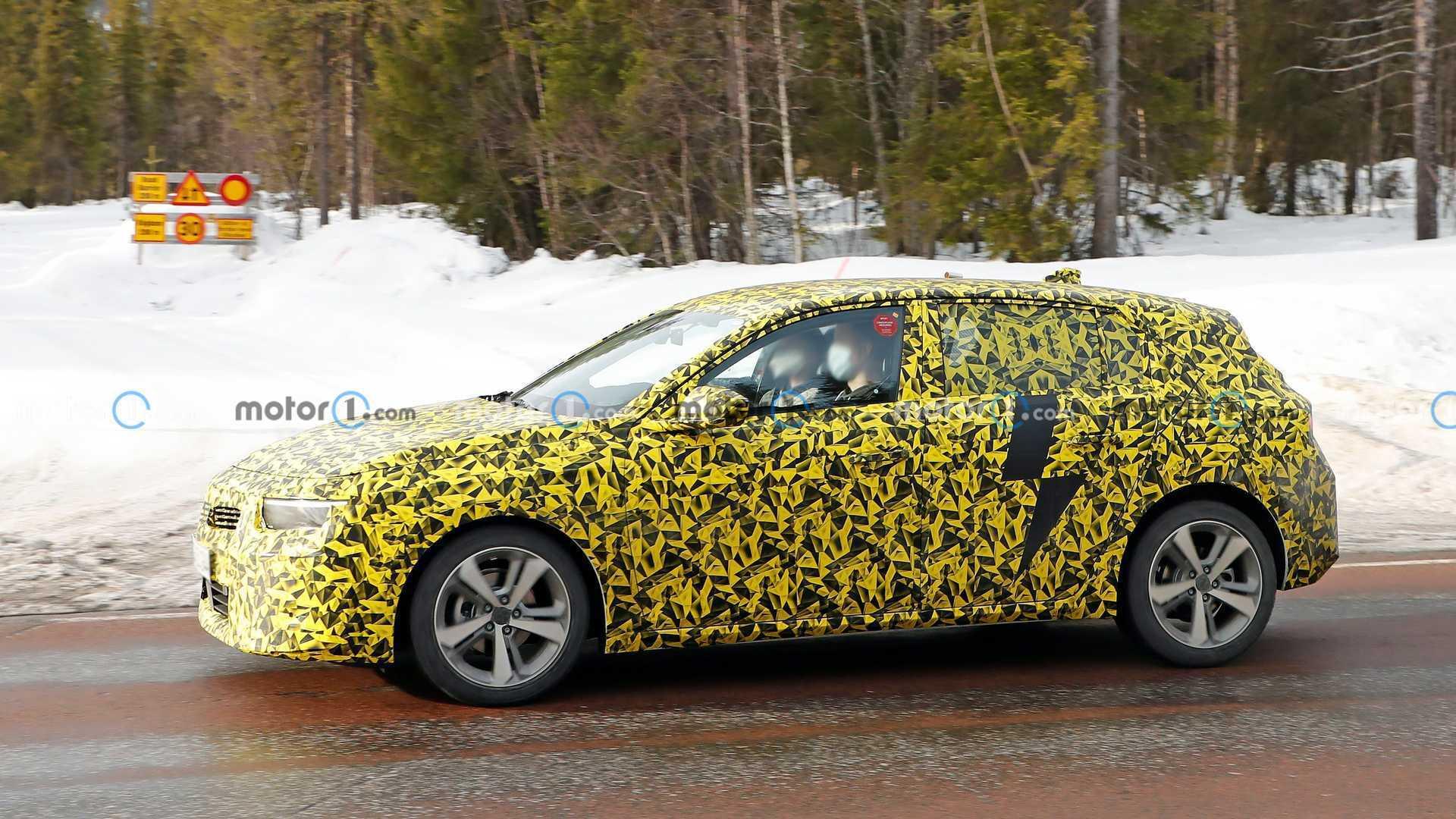 Opel Astra побудують на платформі EMP2