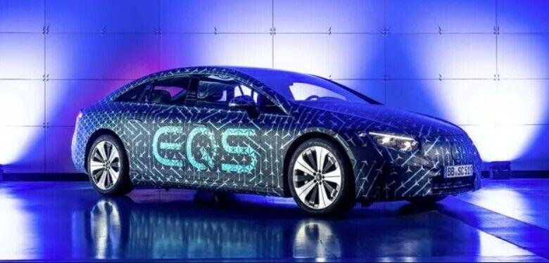 Внешность Mercedes EQS пока не раскрыта