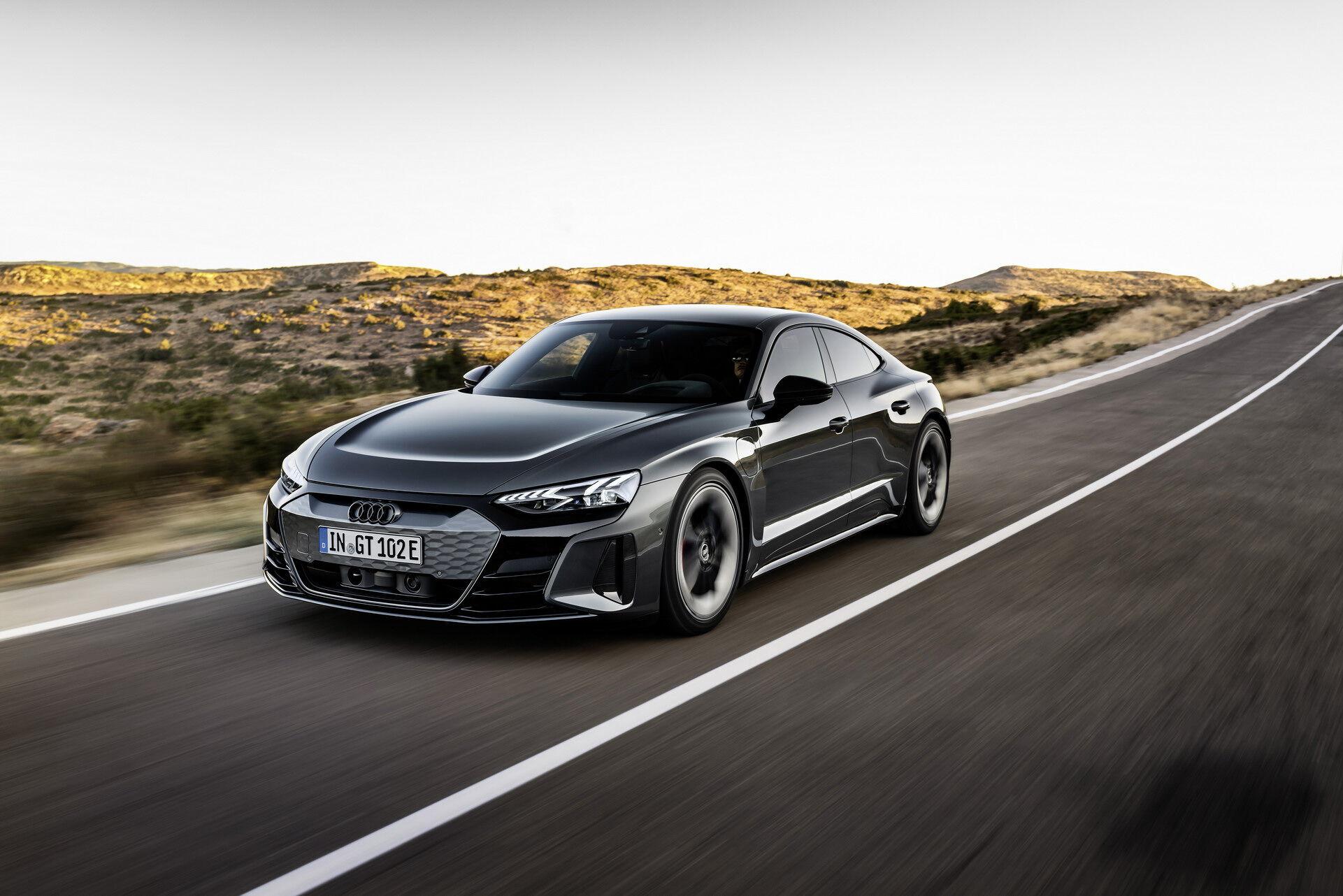Audi e-tron GT предлагает спортивный характер