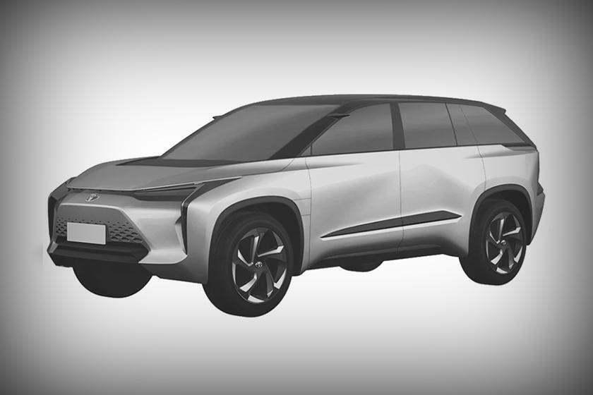 Дизайн будущего кроссовера Toyota