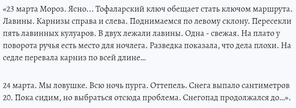 Записи из дневника Александра Носко