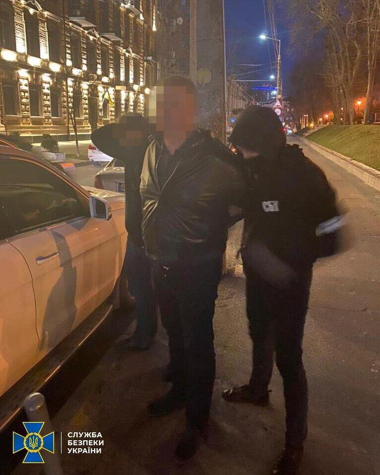 Задержание депутата в Киеве