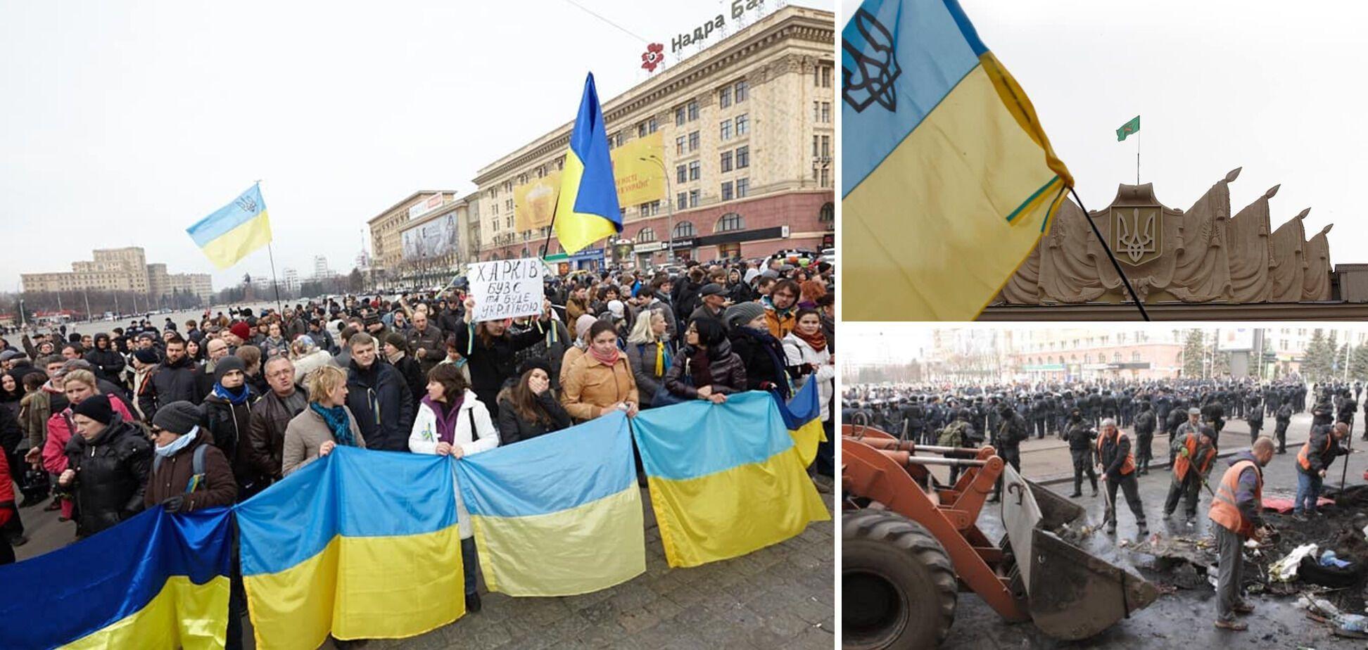 Украинцам 8 апреля 2014-го удалось предотвратить сепаратизм на Харьковщине