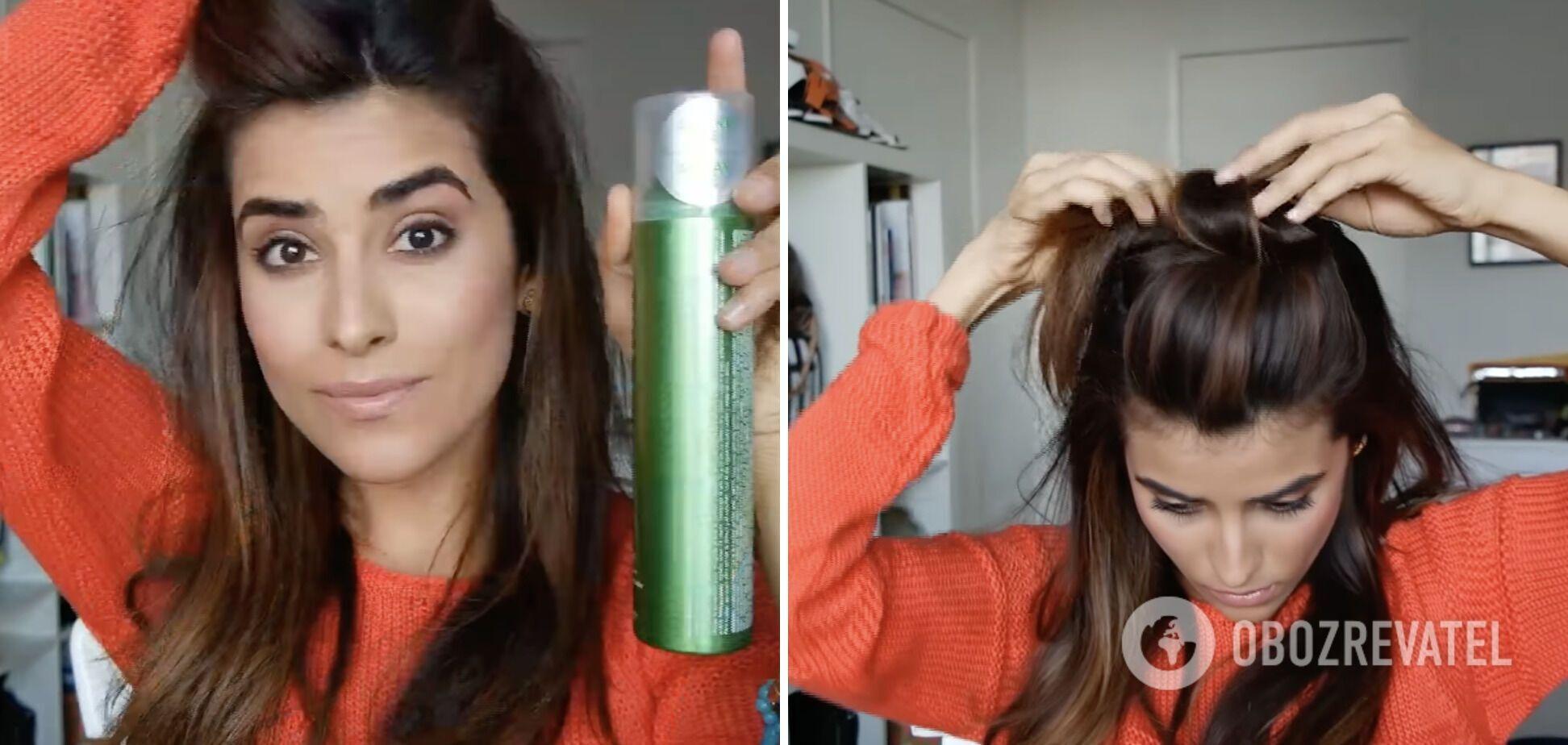 Трендову зачіску можна зробити за кілька хвилин