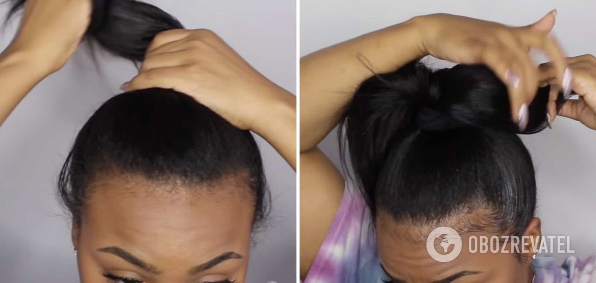 Зачіска дуже оригінальна й пасує під будь-яке вбрання.