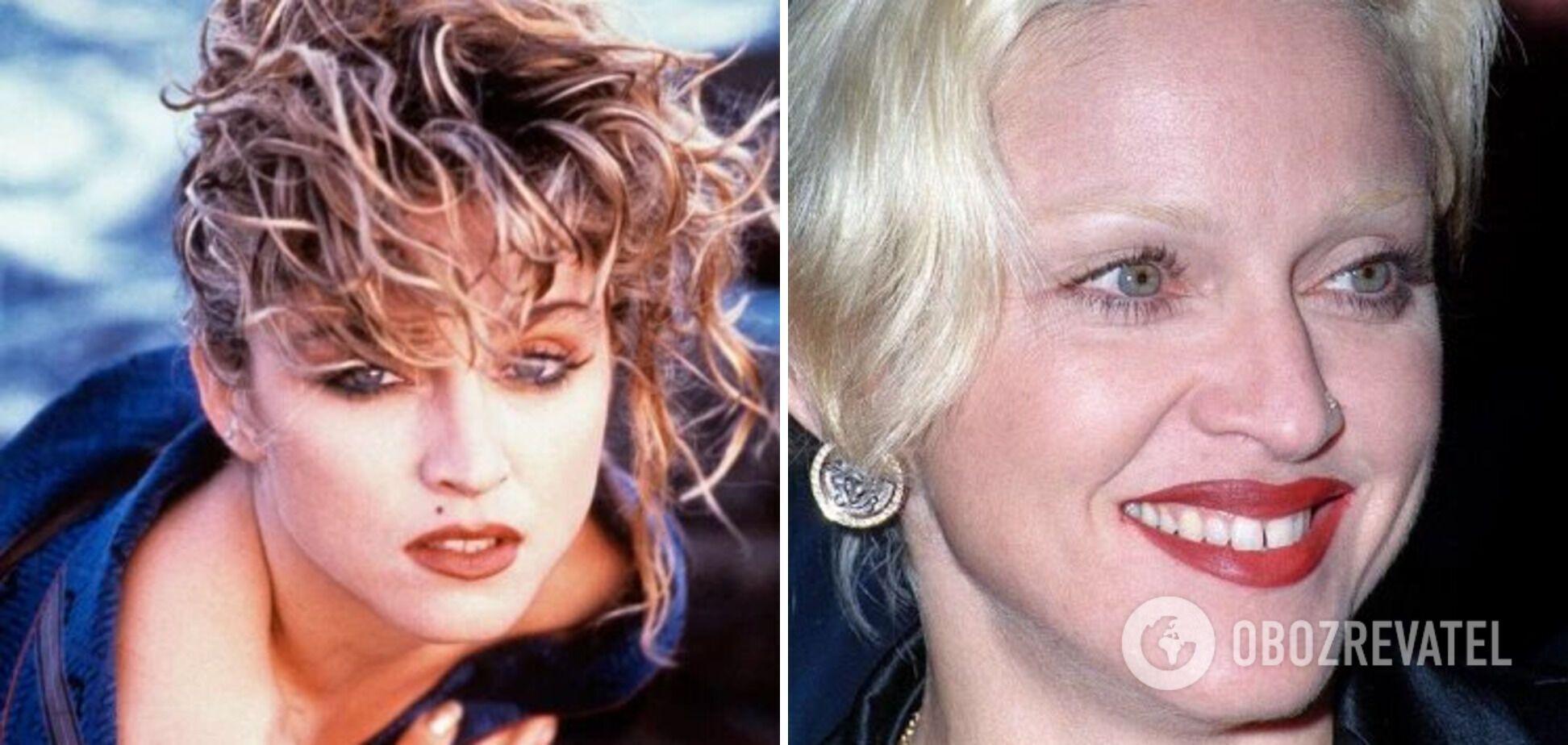 Мадонна часто меняет имидж