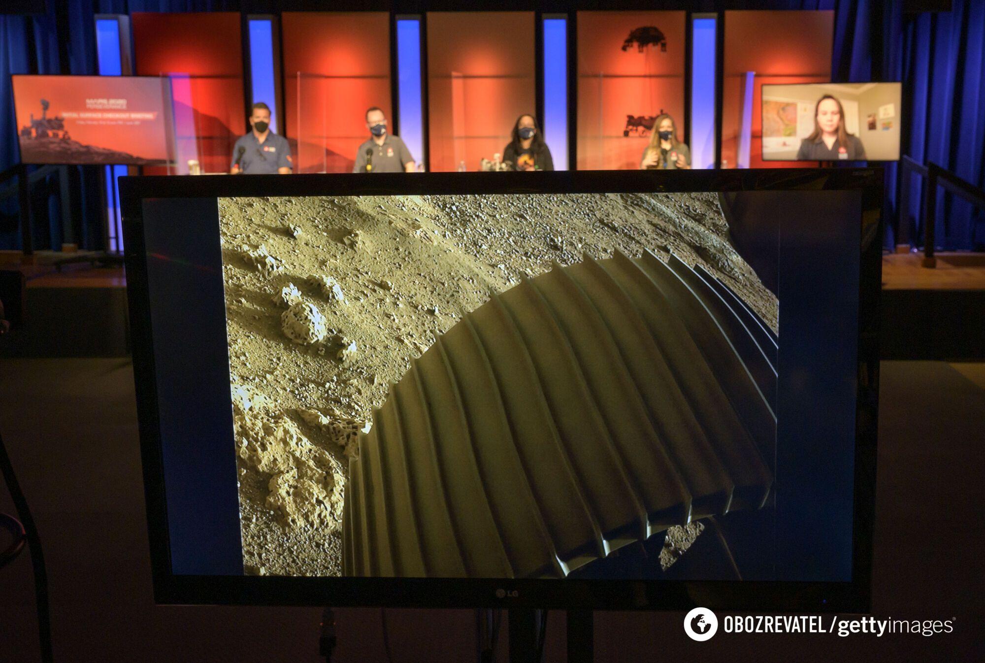 Perseverance собрал данные о климате на Марсе
