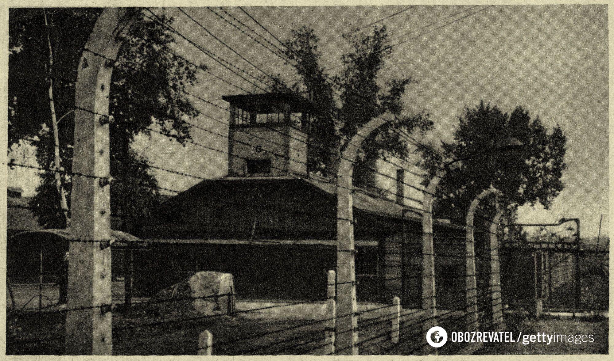 """Жилые помещения """"блокфюреров"""" в главном лагере Освенцима"""