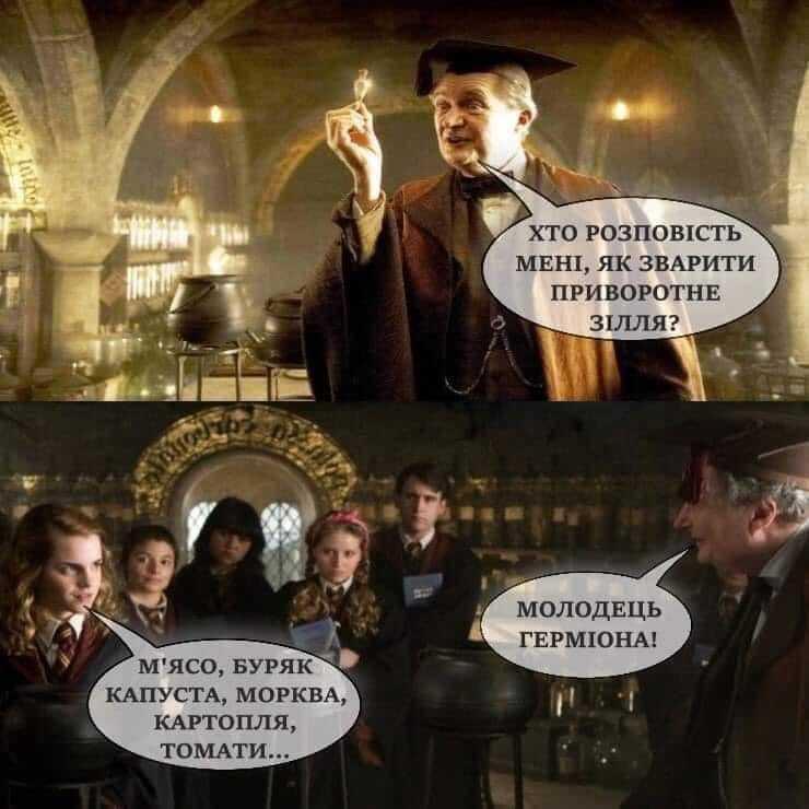 """Мем із """"Гарі Поттера"""""""