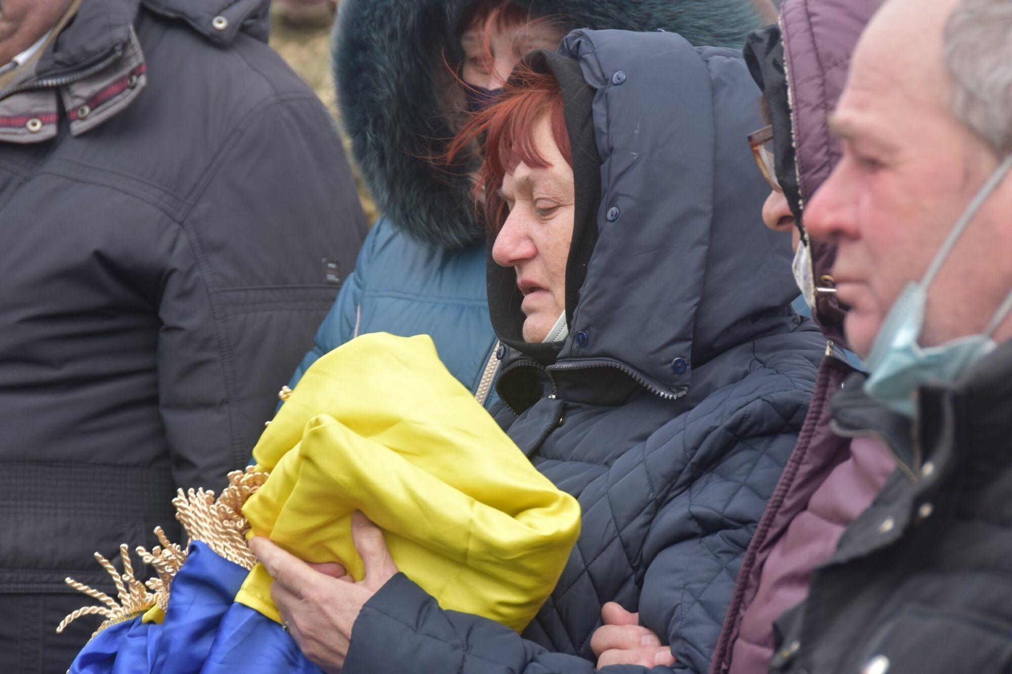 Мати загиблого Володимира Шпака