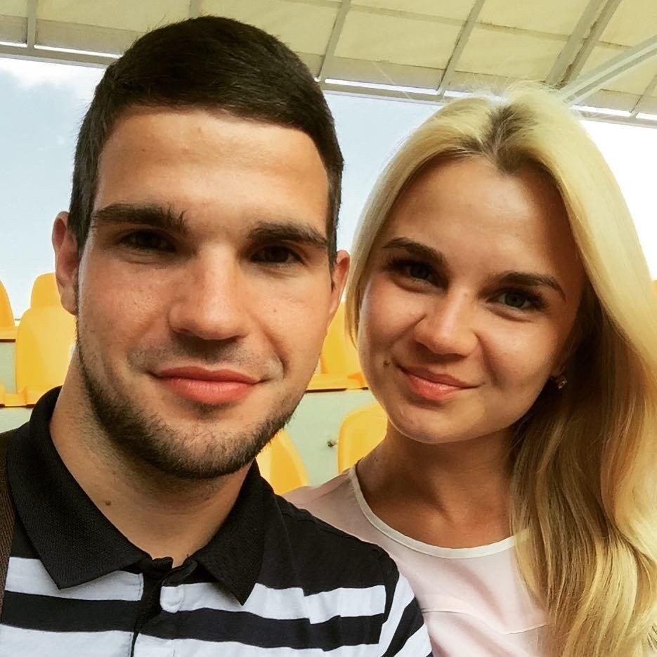 Валерий Кучеров с женой