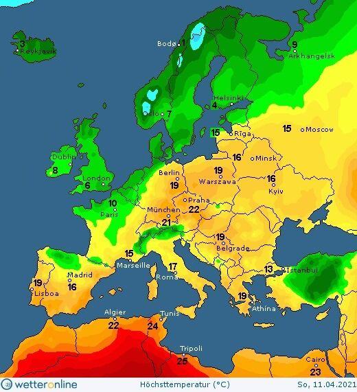 На вихідних в Україні потепліє до +18