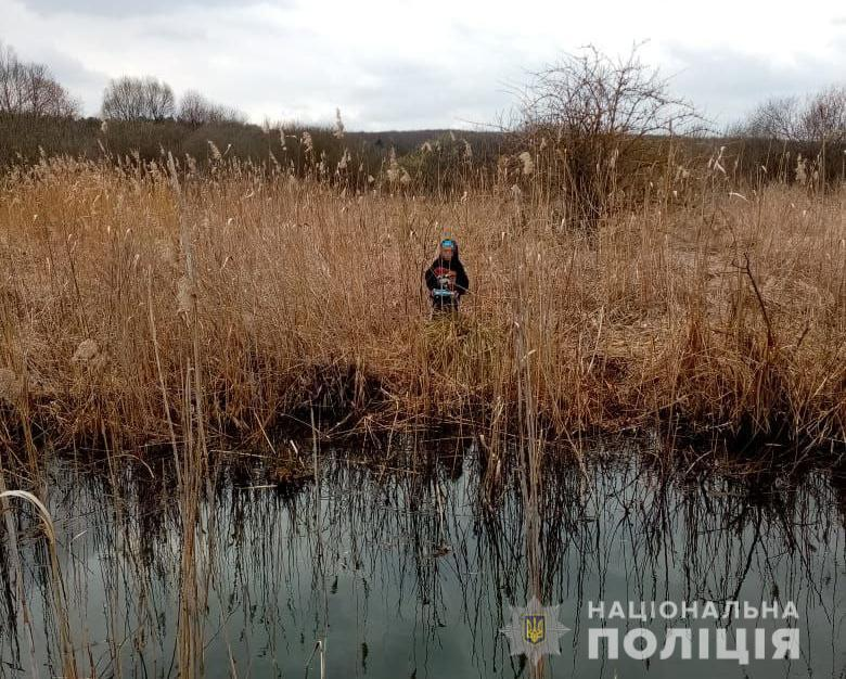 Хлопчика виявили в болоті