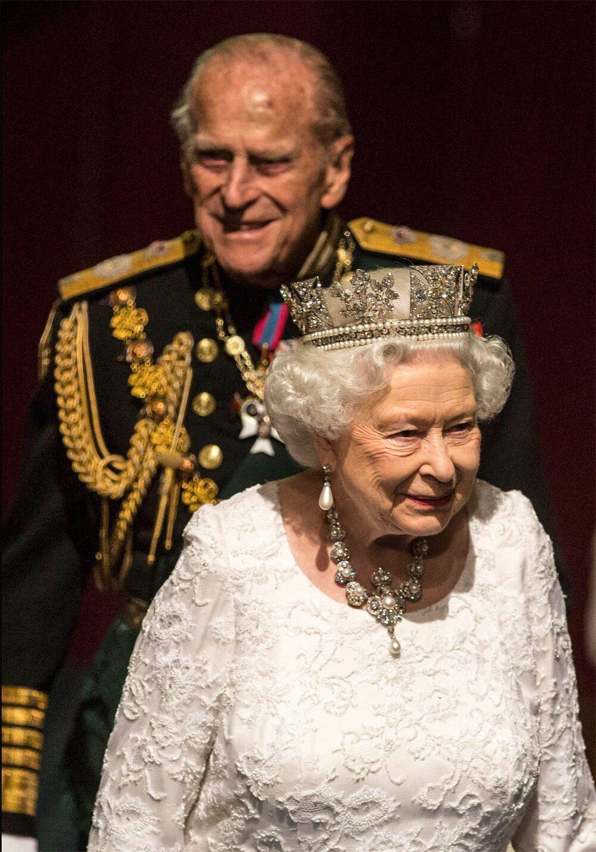 Королева Елизавета II и принц Филипп прожили вместе 73 года.