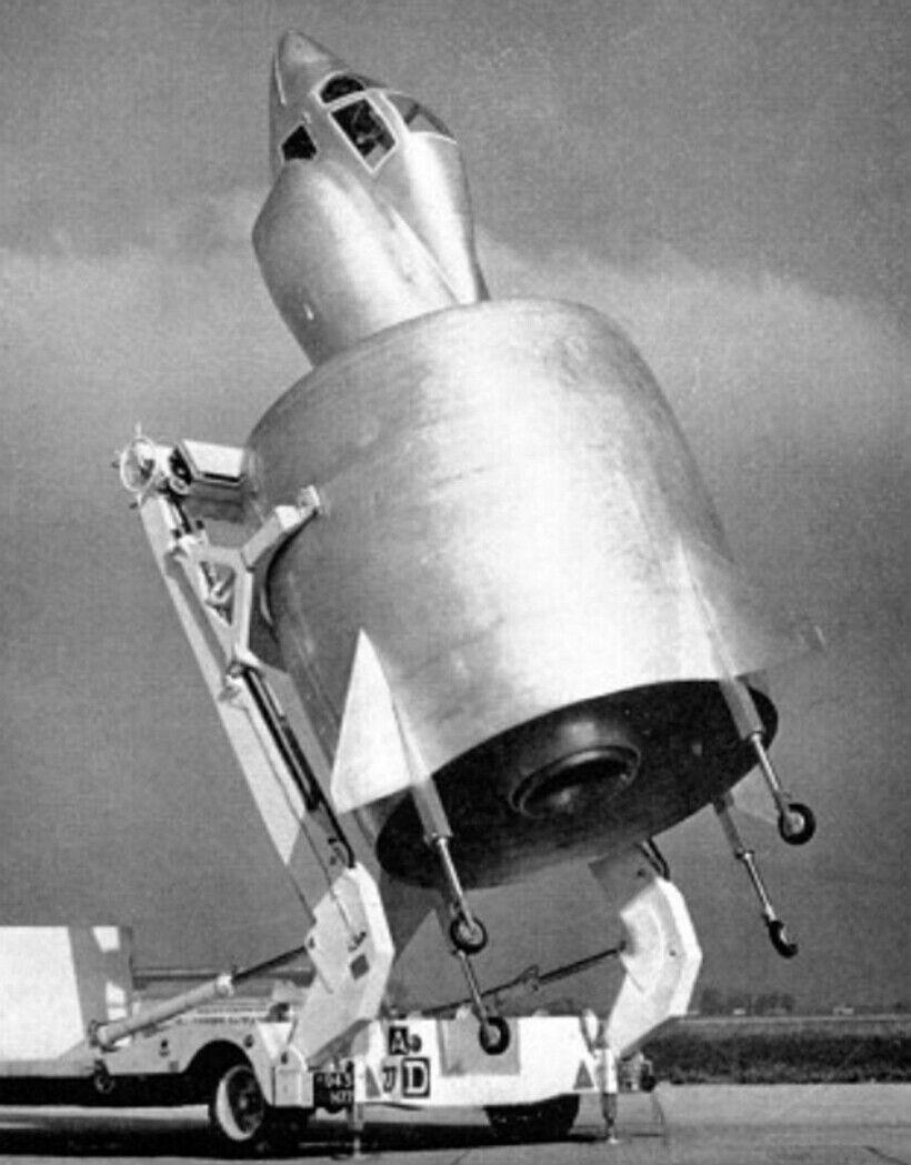 Вариант модели самолета 1958 года