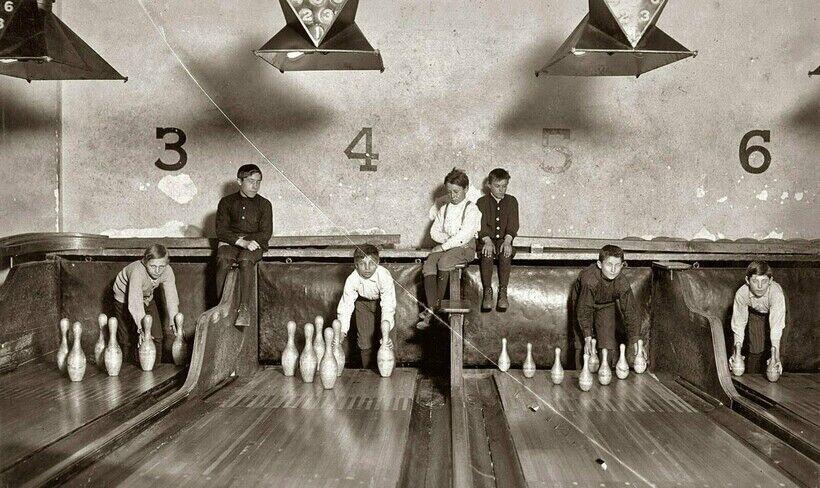 Боулинг начала 20 века