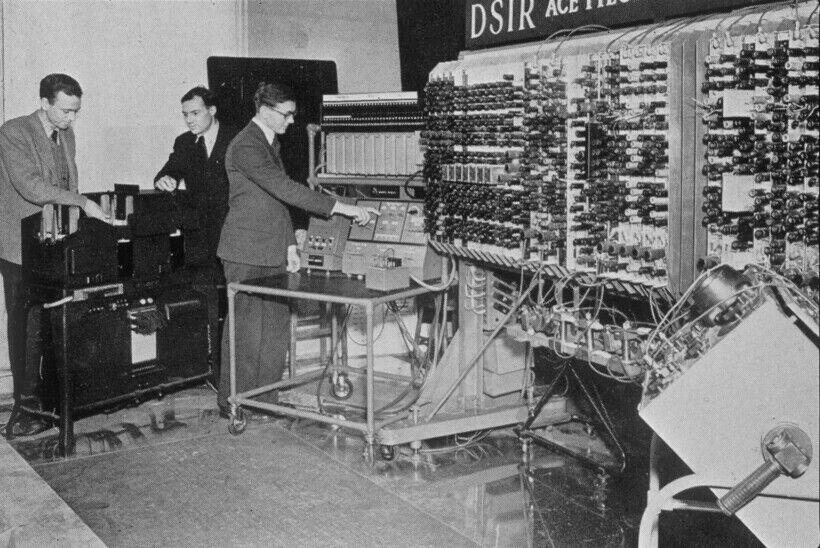 Сверхмощный компьютер 50-х годов