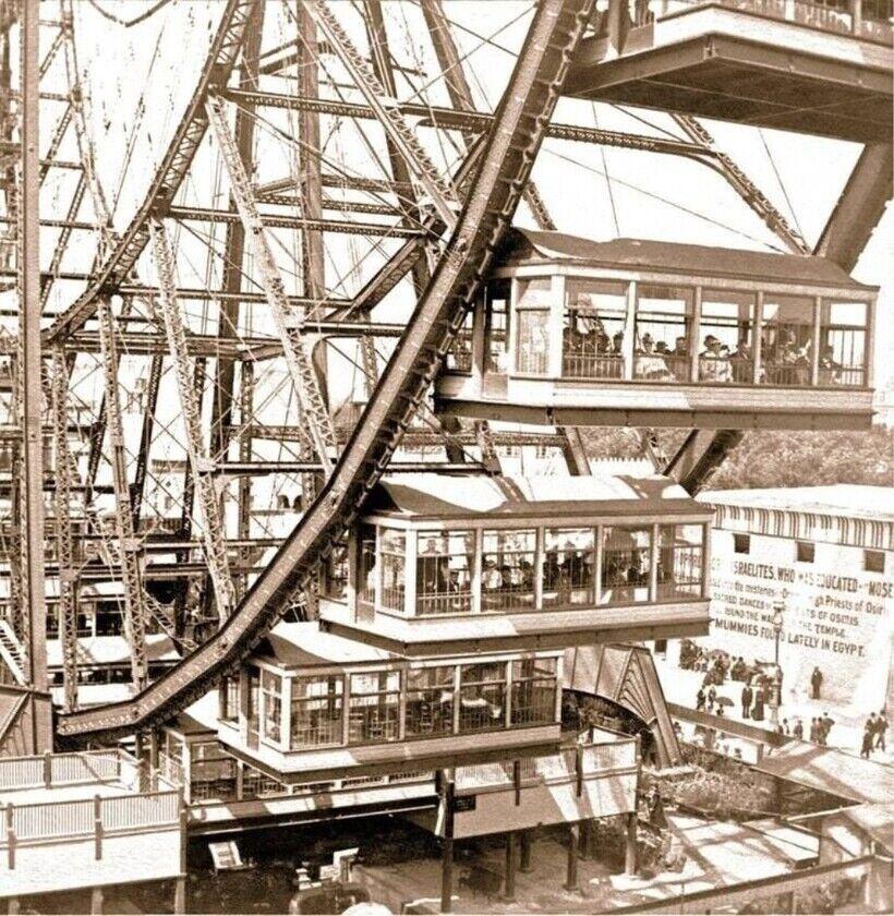 Первое гигантское колесо обозрения