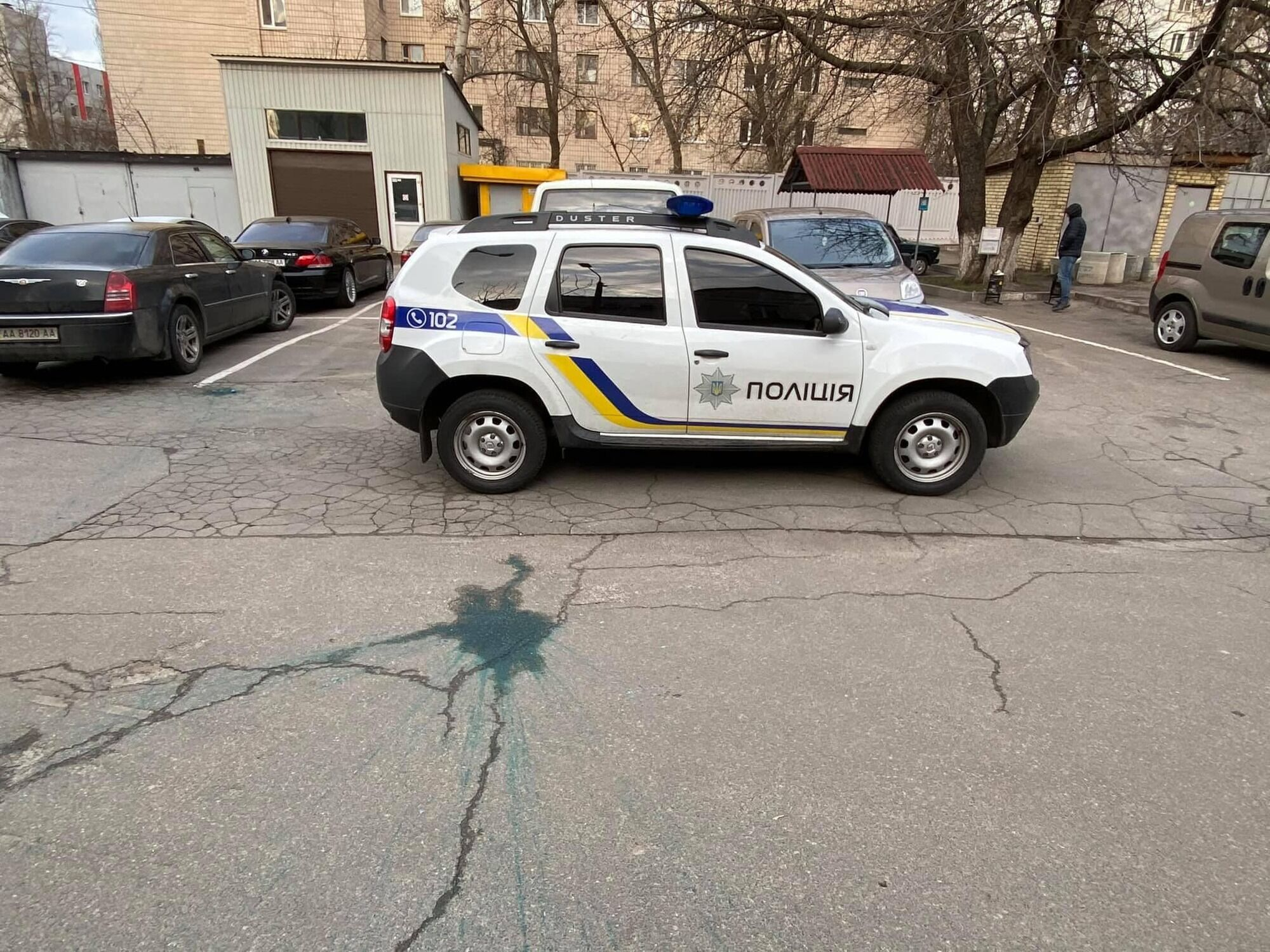 Інцидентом зайнялися співробітники поліції.
